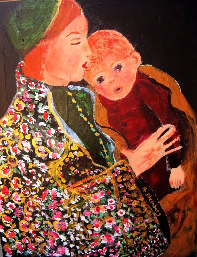 Art by Adele Steinberg