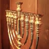 Gold Menorah Unveiled at Nobel Prize Hotel