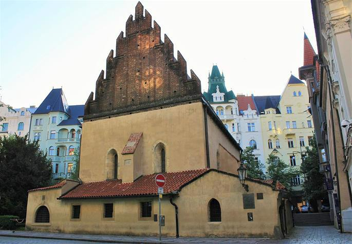 The Old New Synagogue in Prague is Europe's oldest active synagogue. (Photo: Wikimedia)