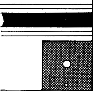 Fig. 4: Corner of tallis gadol.
