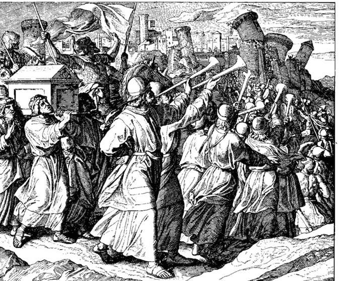 Rahab foi salva da batalha de Jericó (Julius Schnoor Von Carolsfeld, 1794-1872).