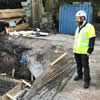 Historic Fortress Unearthed at Helsinki Chabad Site