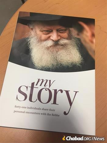 """The """"My Story"""" book compiled 41 personal encounters with the Rebbe."""