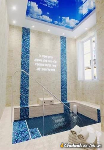 Malta's new mikvah is in Sliema, about 15 minutes from the old privacy structures in Valletta and fit for a king—or more properly, for a queen.