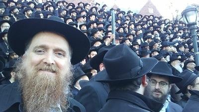 Rabbi at Conference
