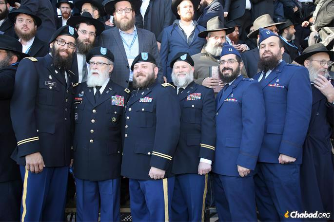 Chaplains in the U.S. armed services. (Photo: Itzik Roytman for Chabad.org)