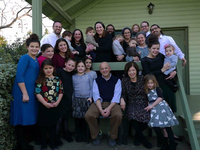 Mischel Family - Golan Heights Shabbat retreat, January 2017.