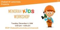 Menorah and Donuts workshop - Kids edition