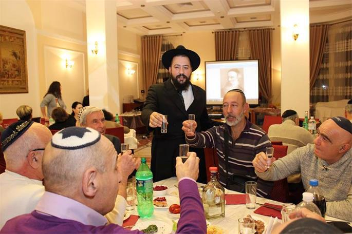 A Yud-Tes Kislev celebration