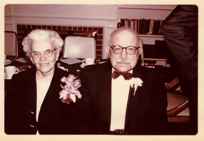 The author's grandparents, Mr. and Mrs. Broida.