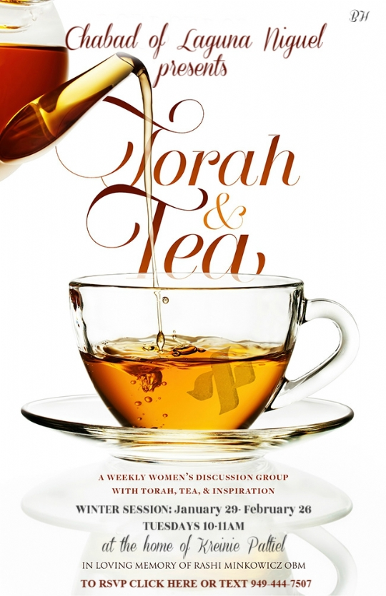 torah and tea winter session