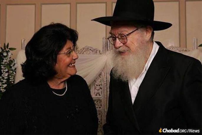 Rabbi Mendel and Sarah Nechama Baumgarten