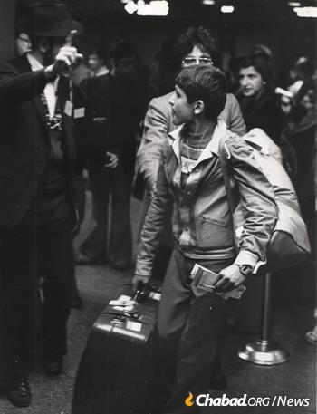 Between November of 1978 and April of 1979, 1,000 children came to Crown Heights. The bulk of them flew from Tehran to Rome, and then on to JFK, arriving in biweekly and then weekly waves. (Photo: Courtesy NCFJE)