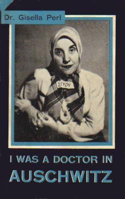 """Capa do livro escrito por Gisella Perl entitulado, """"I Was a Doctor in Auschwitz"""". (Foto: Wikimedia)"""