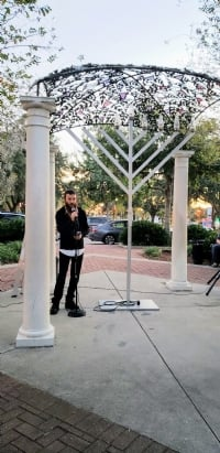 Chanukah in Winter Haven 2018