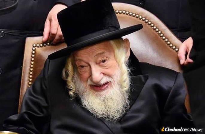 Rabino Yisroel Avrohom de Portugal, o Skulener Rebe