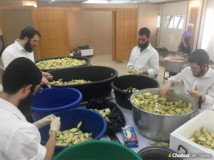 Rabbinical students from around the world will be traveling to Thailand to help out before, during and after the Seders.
