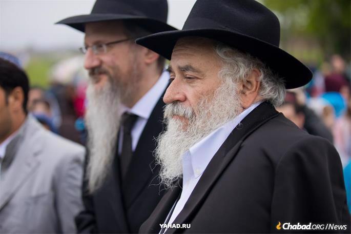 Lazar, left, and Goldstein