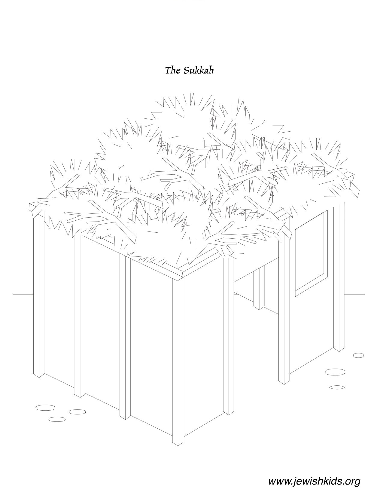 Sukkot Coloring Pages Crafts Coloring Pages Jewish Kids