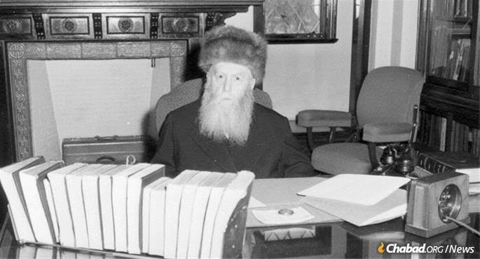The Sixth Lubavitcher Rebbe, Rabbi Yosef Yitzchak Schneersohn