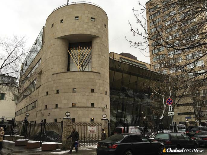 """The storied past of the Bolshoya Bronnaya Synagogue, which dates back to the late 1880s, includes a failed bomb attack in 1999. In 2006, it was attacked by a white supremacist who stabbed nine people as he shouted: """"I will kill Jews"""" and """"Heil Hitler."""""""