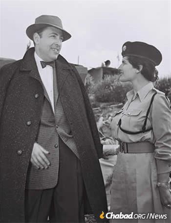 Herman Wouk in Israel, 1955