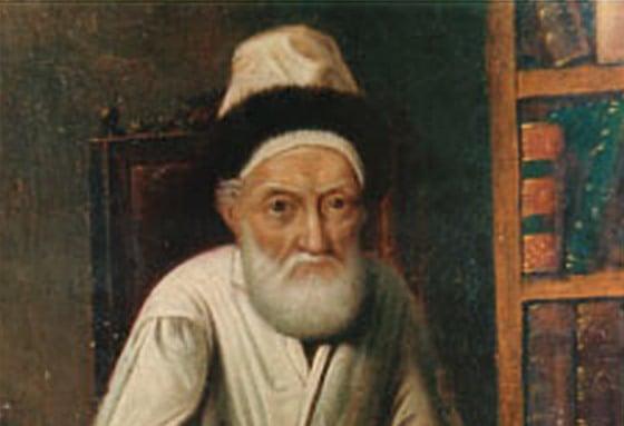 """Rabbi Menachem Mendel of Lubavitch, known as the """"Tzemach Tzedek."""""""