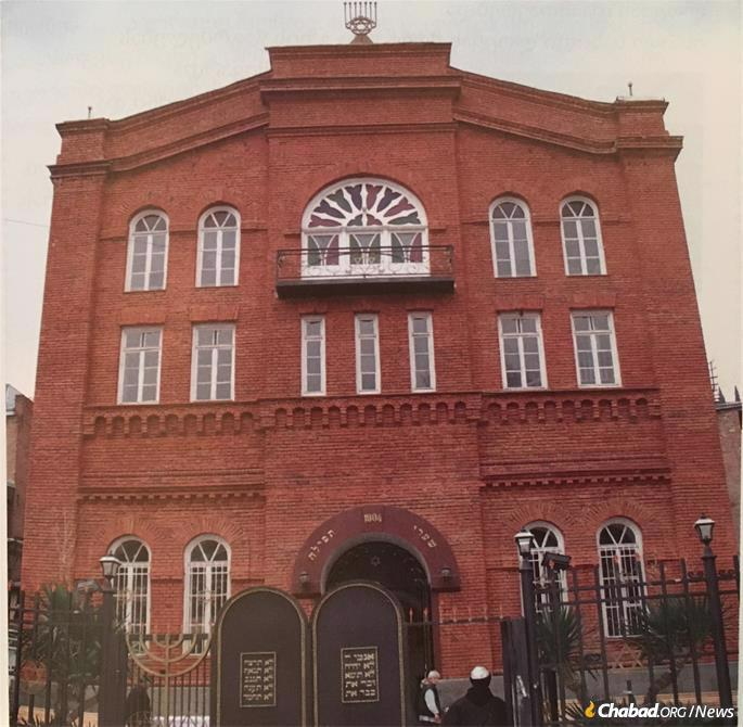 The Great Georgian Synagogue as it looks today.