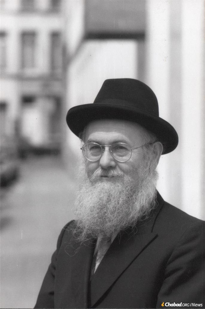Rabbi Azriel Chaikin today.