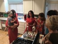 Friday Night Kosher Deli Style (photos taken before shabbat)