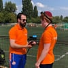 Netherlands Rabbi Suits Up as National Team's 'Spiritual Coach' at Maccabi Games