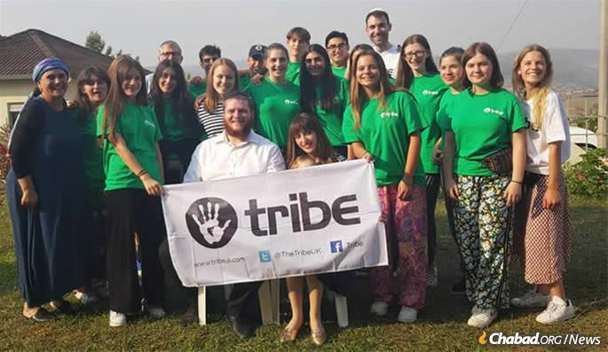 The Bar Sellas recently hosted a Jewish youth group from Great Britain that was touring Rwanda.