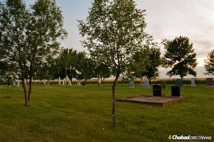 The cemetery is the only remnant of the colony, the shul and mikvah no longer standing. The cemetery was established in 1892, making it the oldest Jewish cemetery in Saskatchewan.