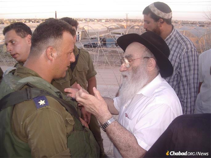 In Gaza prior to the 2005 unilateral pullout.