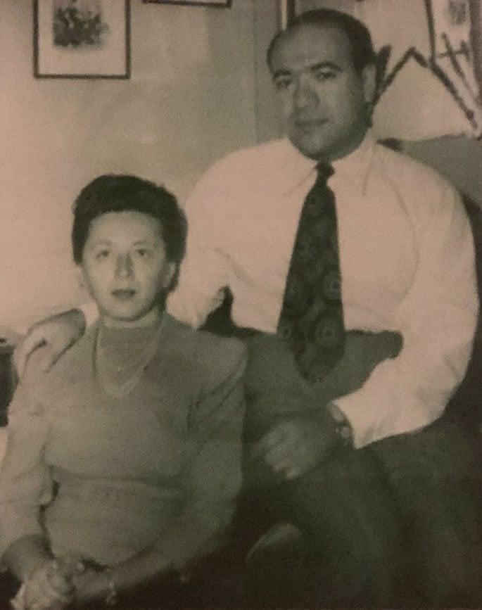 Les grands-parents de l'auteure, Ida et William Sterling.