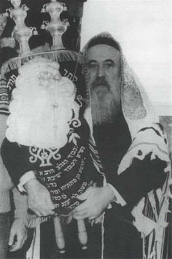 Rabbi Avraham Simcha Kaplan (1911-1989) was the rabbi of Safed for more nearly half a century.