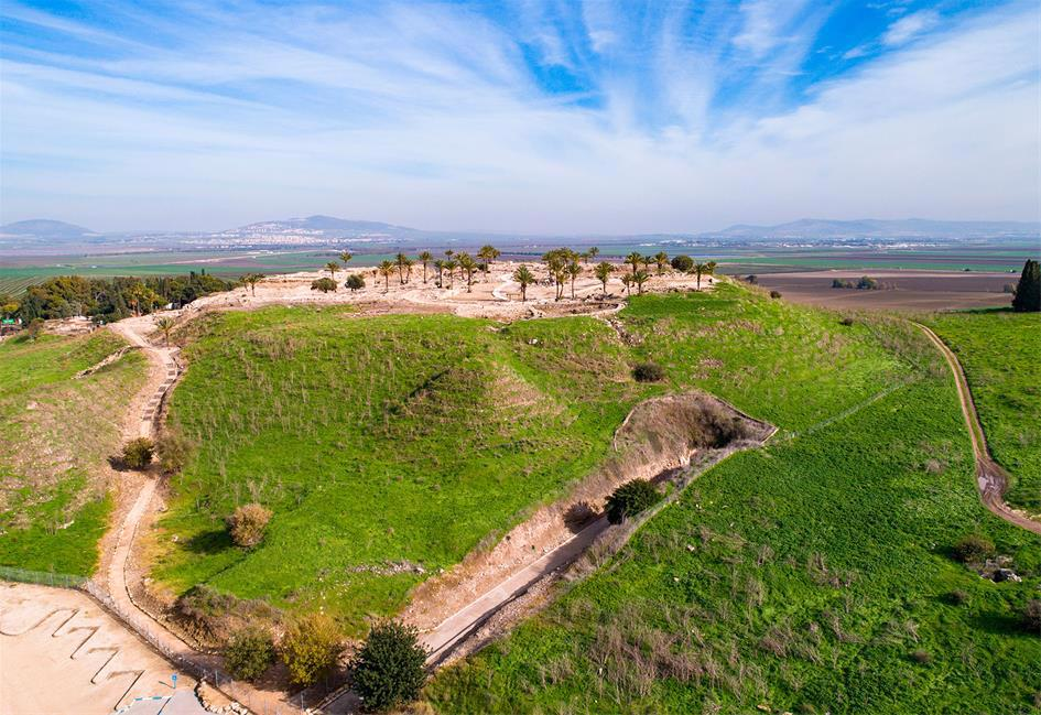Overlooking the passage inland, Megiddo was an important crossroads in the past, and the site of countless battles and conquests.