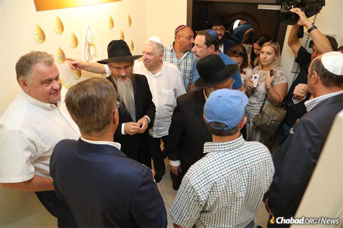 The grand opening, held on Sept. 4, was attended by a roster of local dignitaries.