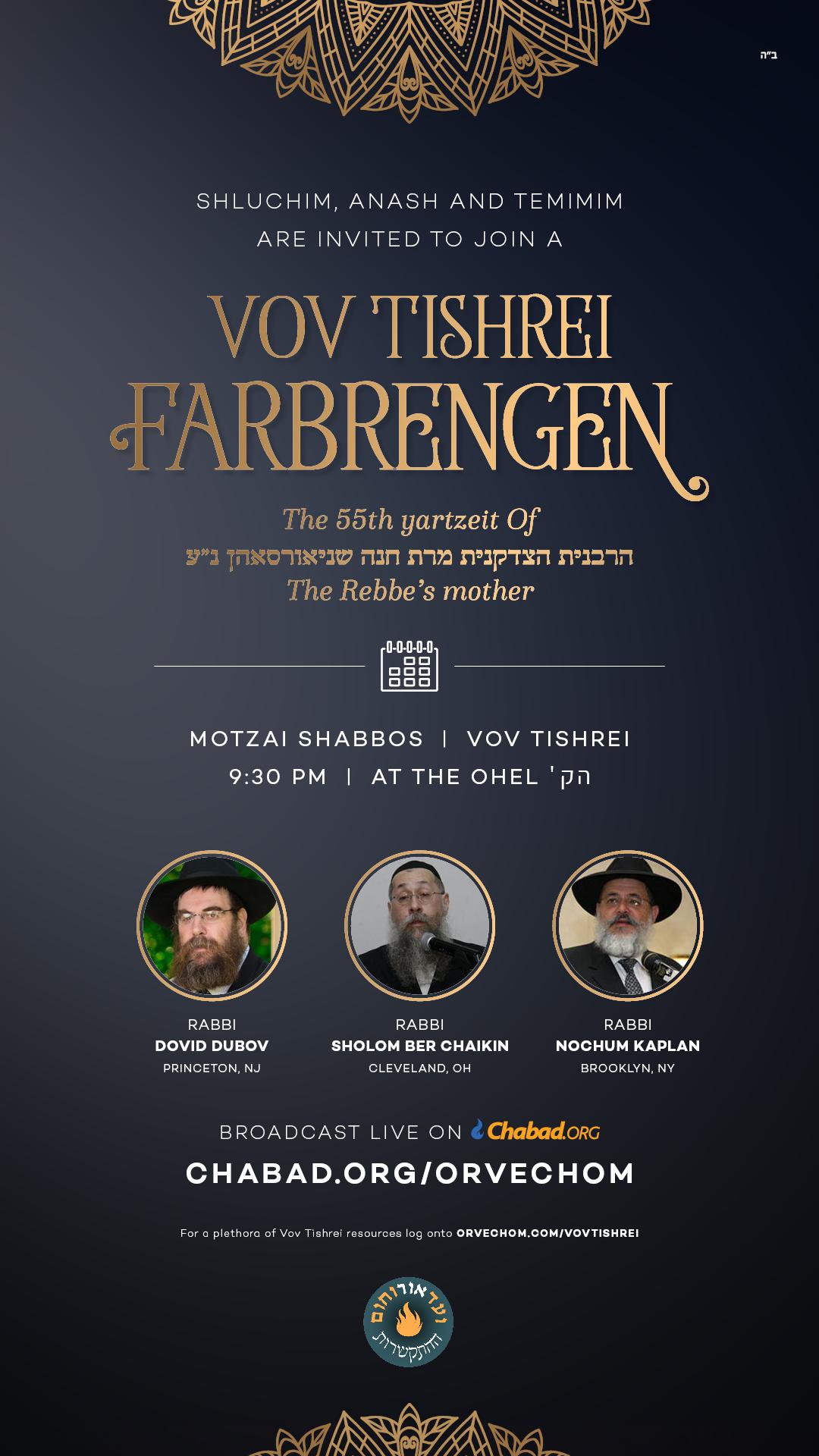 Vov Tishrei Farbrangen At the Ohel.jpg