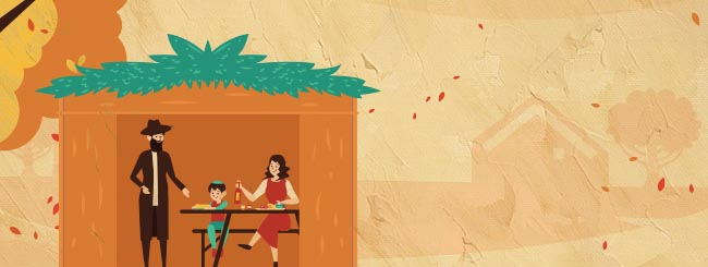 7 Paradoxes About the Sukkah That Help Us Break Through Illusions