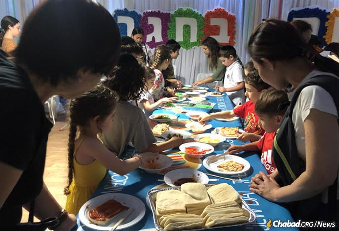 Children remain a focus of Chabad of Hong Kong's activities.
