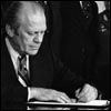 Why was Gerald Ford President?