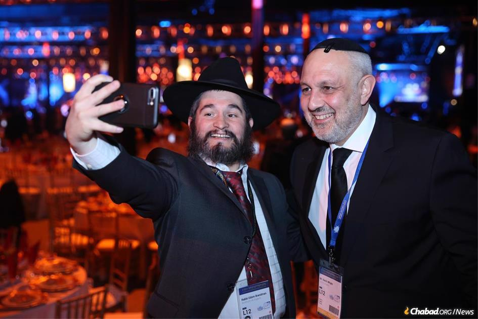 Selfies galore as longtime emissaries and new ones reconnect and meet at the annual International Conference of Chabad-Lubavitch Emissaries (Kinus Hashluchim).