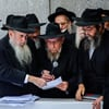 Thousands of Rabbis From Around the World at the Rebbe's Resting Place