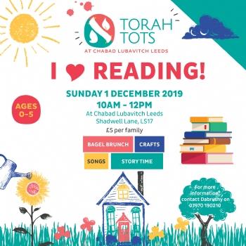 Torah Tots - I Love Reading!