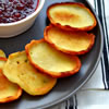 Sweet Cheese Latkes for Chanukah