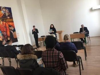 Семинар для абитуриентов в Южноукраинском Еврейском университете