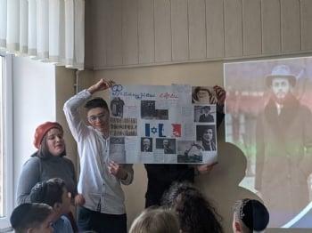 Воспитанники УВК «Хабад» праздновали 19 Кислева