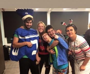 Glenwood House Chanukah Party 2019