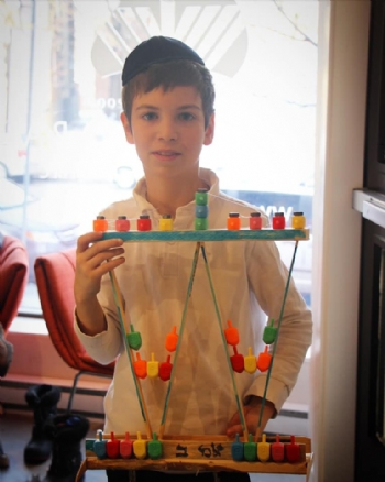The Miraculously Sustainable and Up-cycled Menorah Craft Day